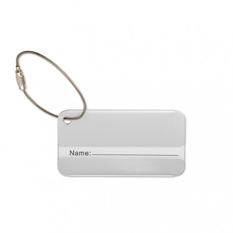TAGGY - Aluminium luggage tag
