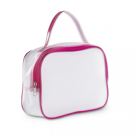 COSMONOVA - Transparent PVC cosmetic bag.