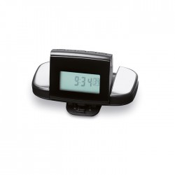 FITBACK - Pedometer in ABS with belt clip.