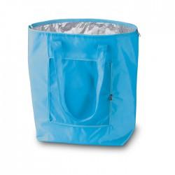 Convenient foldable cooler bag