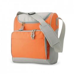 Cooler bag with front pocket