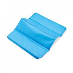 Folding seat mat