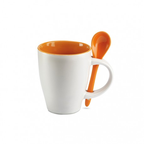 DUAL - Bicolour ceramic coffee mug
