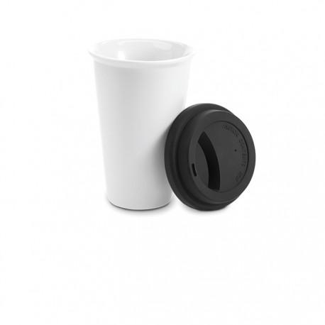 PADDINGTON - Double wall ceramic travel cup