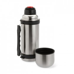 Double wall stainless steel insulating flask