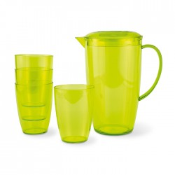 DAVIS - Pitcher with 4 tumblers