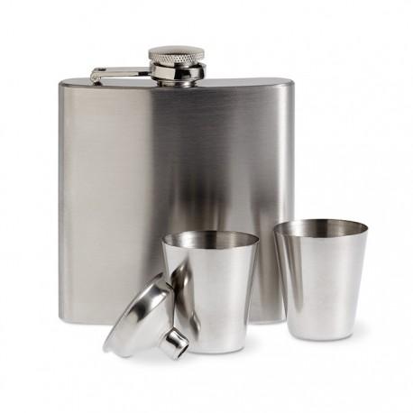 ANNASKA - Slim hip flask
