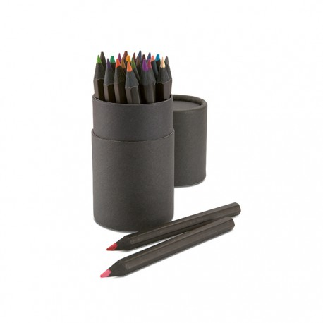 BLOKYMOORE - 24 piece colouring pencil set