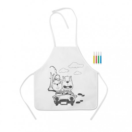 PAINT & COOK - Non woven kids apron