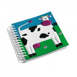 Notebook with soft cover