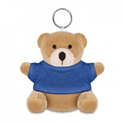 NIL - Teddy bear plush key ring