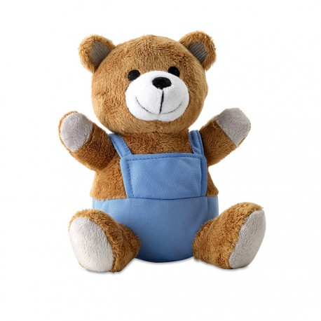 NICO - Teddy bear plush dressed with colourful outfit