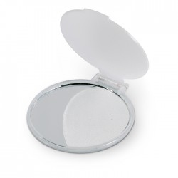 Single sided make-up mirror