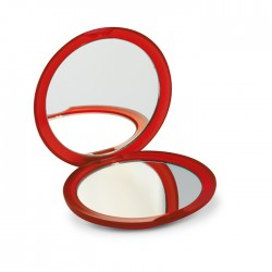 RADIANCE - Rounded double sided compact mirror