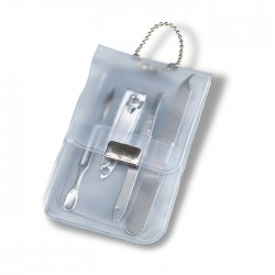 LACKS - Manicure set in transparent case
