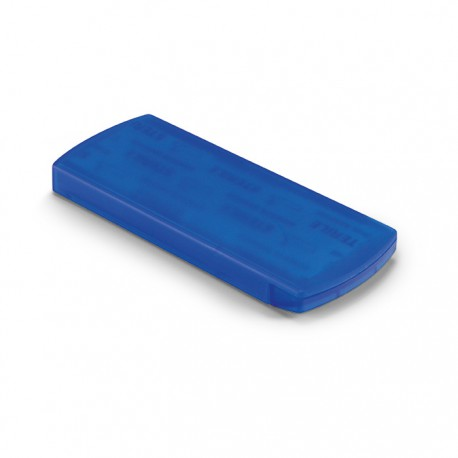EVAN - Compact plastic container including 5 pcs adhesive bandages