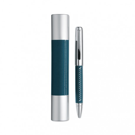 PREMIER - Metal ball pen with silver chrome finish