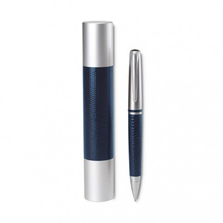 AVANT GARDE - Ball pen in metal and PU leather combination