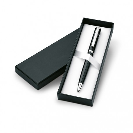 OLYMPIA - Metal twist ball pen with shiny lacquer finish