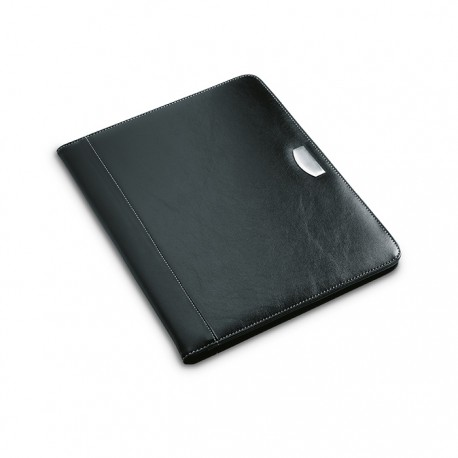 BUSWE BIG - A4 PU portfolio with metal logo plate