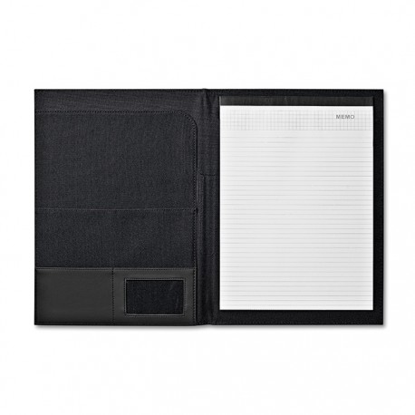JONCAS - A4 size portfolio in 600D polyester and PVC