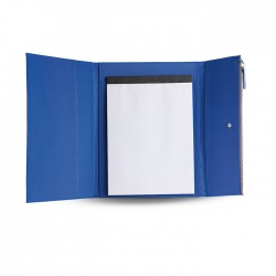 OSAKA - A4 size portfolio in microfiber with 50 pages white paper block