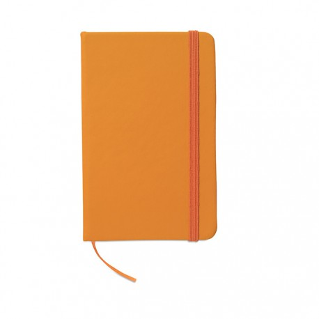 NOTELUX - Notebook with soft PU cover and 96 blank paper pages