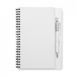 Blank Paper Notebook with Pen