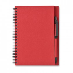 A5 Block Paper Notebook with Pen