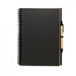 BLOQUERO - Recycled notebook with carton cover