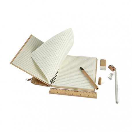 PACKPAT - Recycled notebook with carton cover
