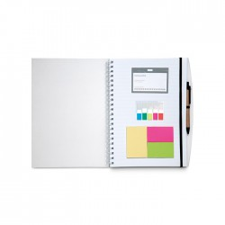 COMBINOTE - A4 size notebook with lined paper