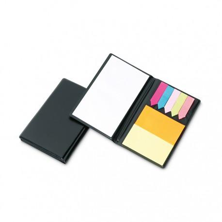 MEMOFF - Practical memo set including 1 large white memo pad