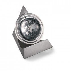 360º rotating desk clock with picture frame