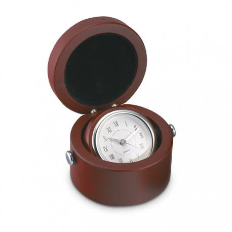 HELIO - Desk clock in wooden box
