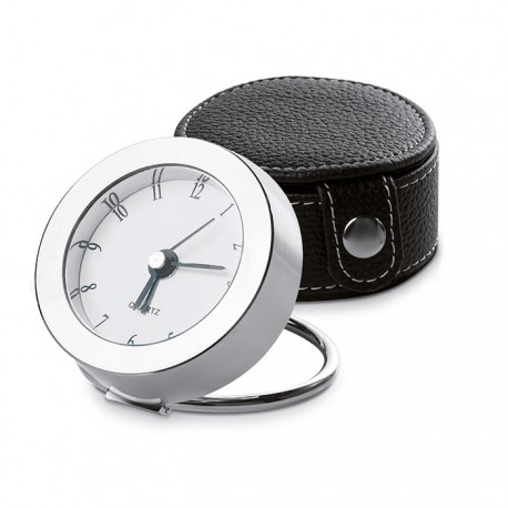TAILOR - Travel clock with metal frame