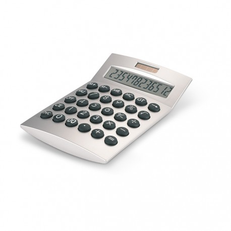 BASICS - 12 digit solar energy calculator with plastic housing