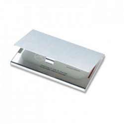 Aluminium business cardholder