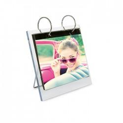 Rotating photo frame