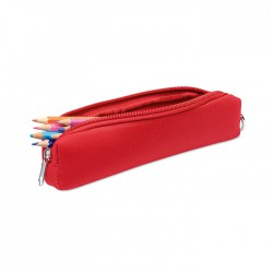 Pencil case in foam with carabiner