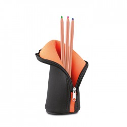 POTCASE - Multi-purpose high density foam zipped pouch with contrasting colour inside