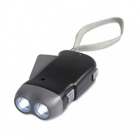 ROBIN - 2 LED ABS dynamo torch