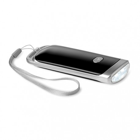 BILANCO TORCH - 5 LED solar torch made of ABS with flashing light