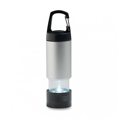 EXTEN - Extendable torch made of aluminium with 1 LED