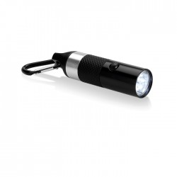 Aluminium torch with 6 LED lights