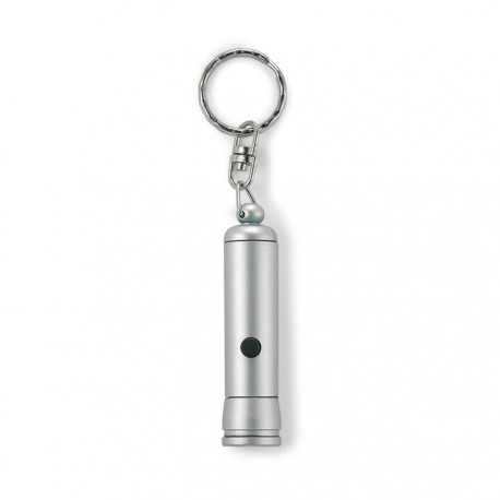 BLULIT - Plastic LED flashlight with key ring