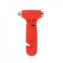RESQ - 3 in 1 emergency hammer with belt cutter and LED light