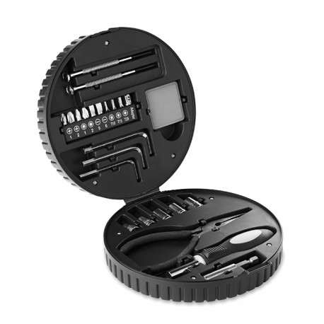 RUEDA TOOL - 25 piece tool set in tyre shaped box