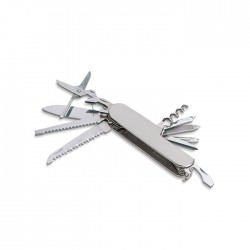 MC GOMERY - Multi-function pocket knife in anodised aluminium finish