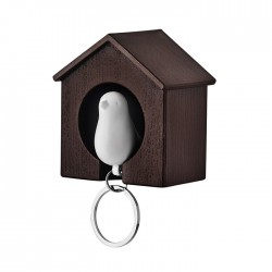 PAJARITO - Bird house made of ABS with key ring